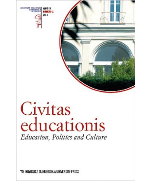 Civitas educationis. Education, Politics, and Culture