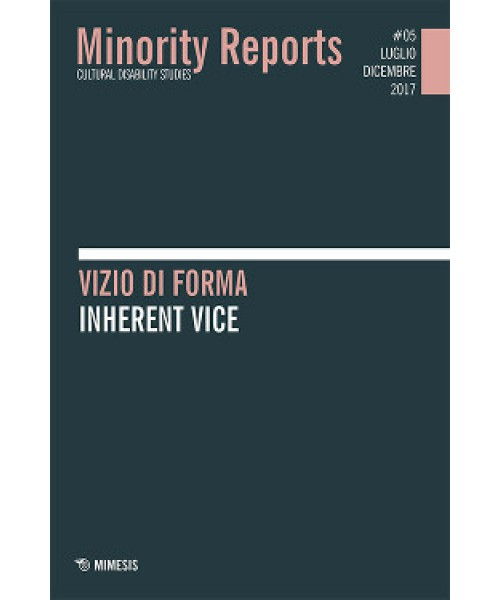 Minority Reports. Cultural Disability Studies