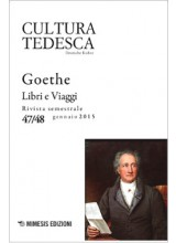 In copertina: Johann Wolfgang von Goethe, ritratto da J. K. Stieler nel 1828
