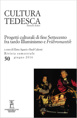 Cultura Tedesca. Deutsche Kultur - n. 50, 2016