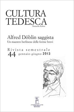 Alfred Döblin saggista. Un maestro berlinese delle forme brevi